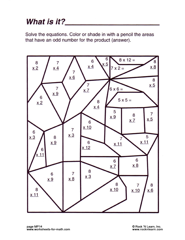 Free Fun Math Worksheets For 5th Grade 1120433