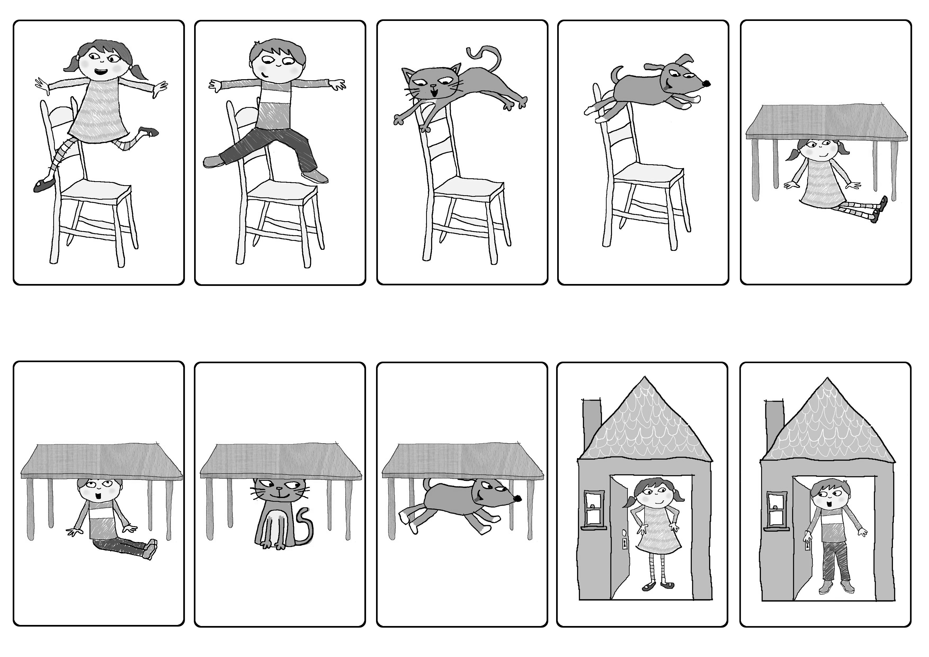 Free Prepositions Worksheets For Kindergarten 689793