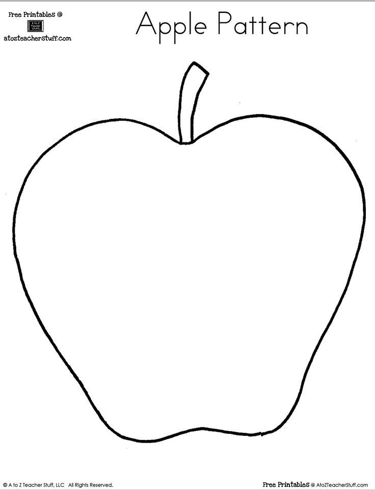 Free Printable Apple Worksheets Kindergarten 1216700