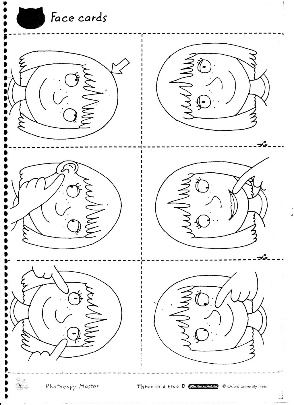 Free Printable Body Parts Worksheets For Kindergarten 1301663