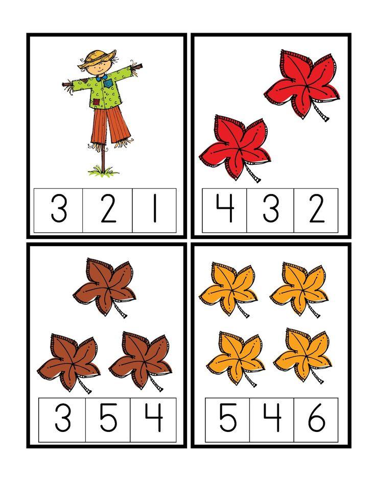Free Printable Fall Worksheets For Preschoolers 834342