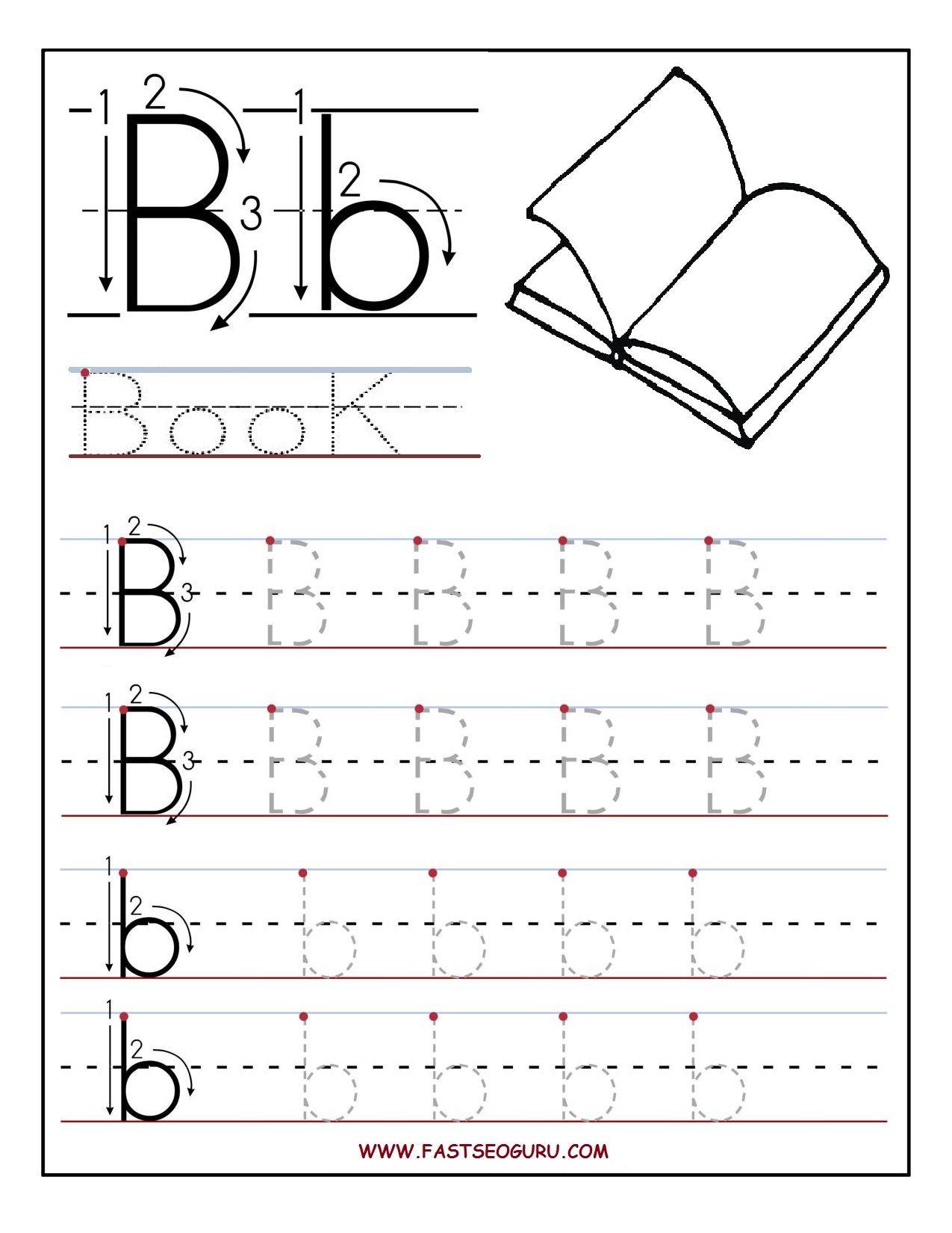 Free Printable Letter B Worksheets For Preschool 289570
