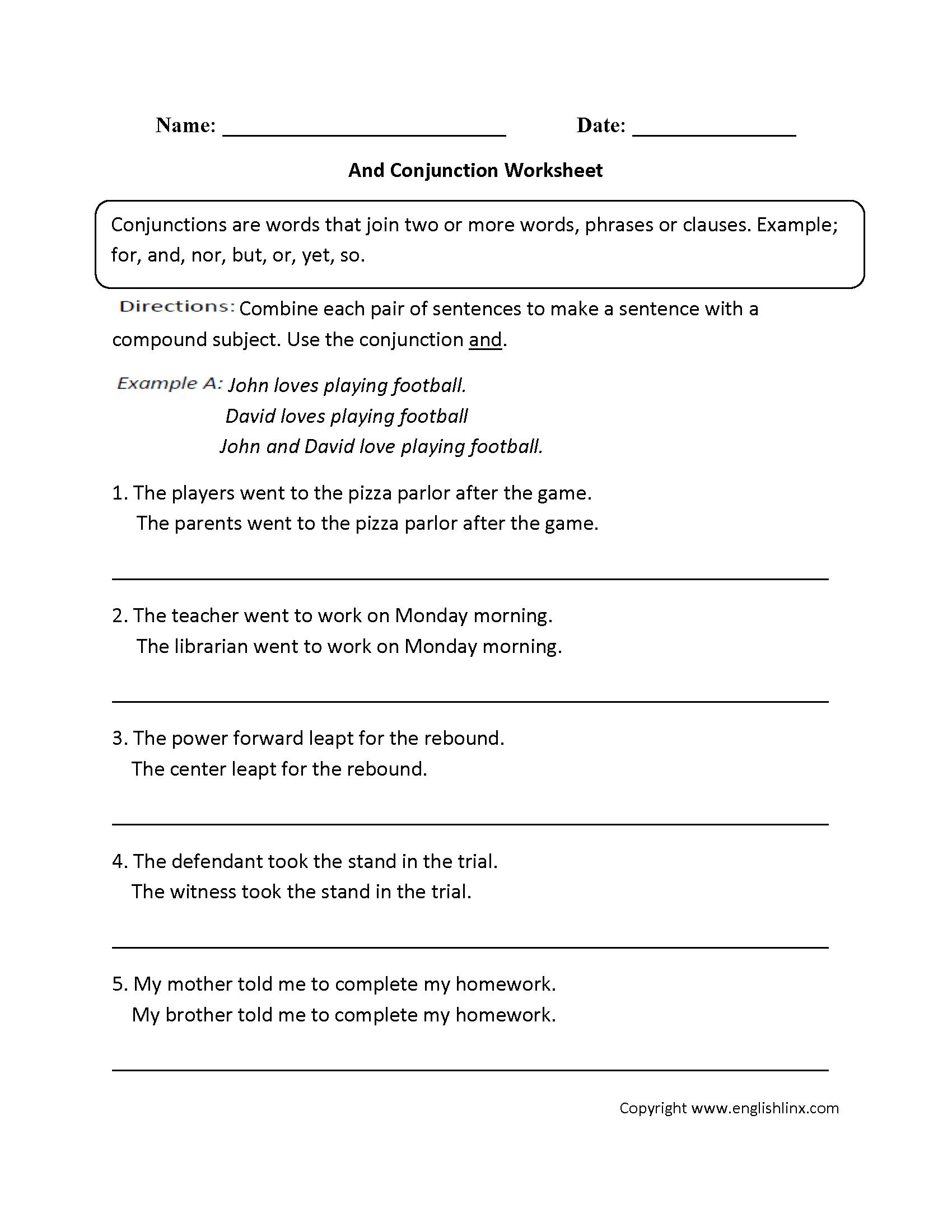Free Printable Parts Of Speech Worksheets Grammar 1700×2200