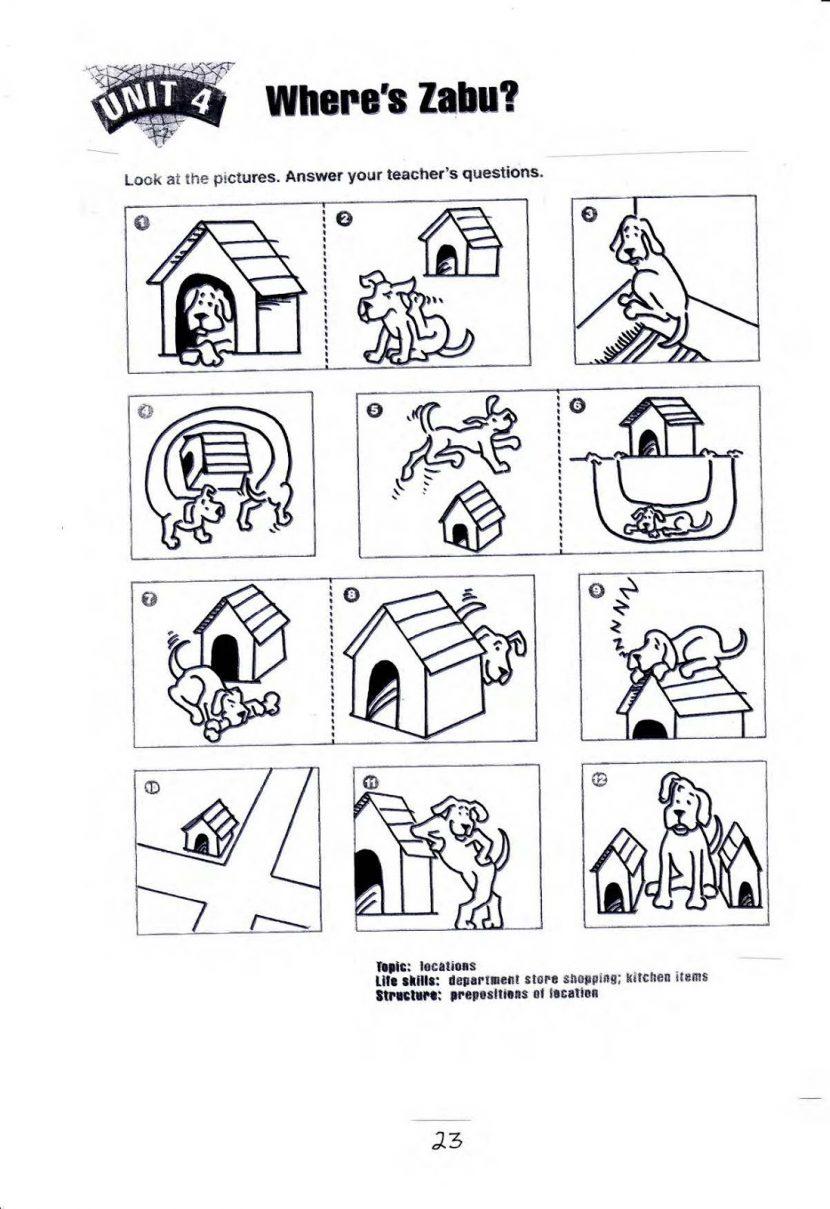 Free Printable Preposition Worksheets Kindergarten 1194633