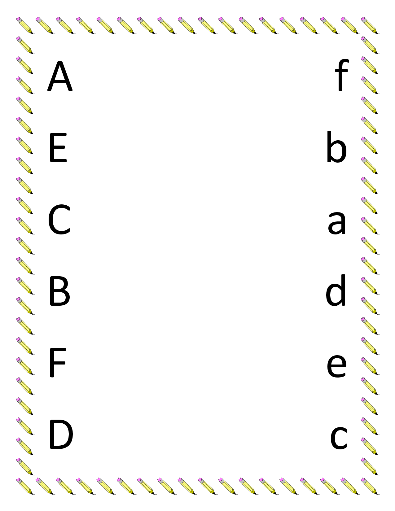 Free Printable Preschool Matching Worksheets 386897