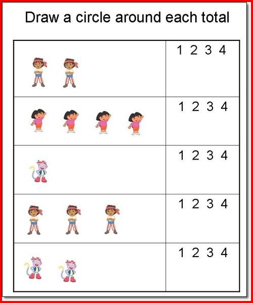 Free Printable Preschool Worksheets For Age 3 & 4