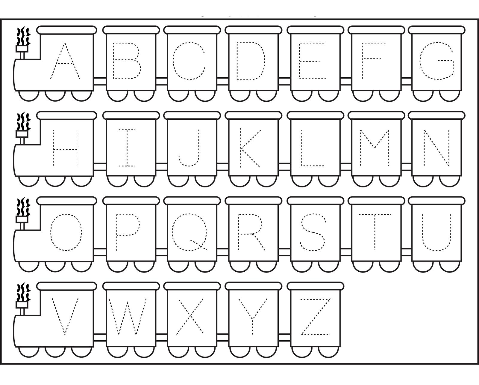 Free Printable Worksheets Preschoolers Alphabet 1303869