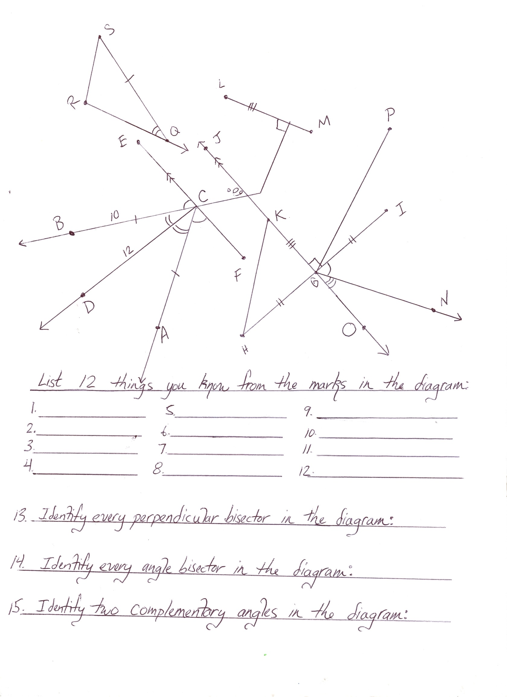Geometry Angles Worksheet Answers The Best Worksheets Image
