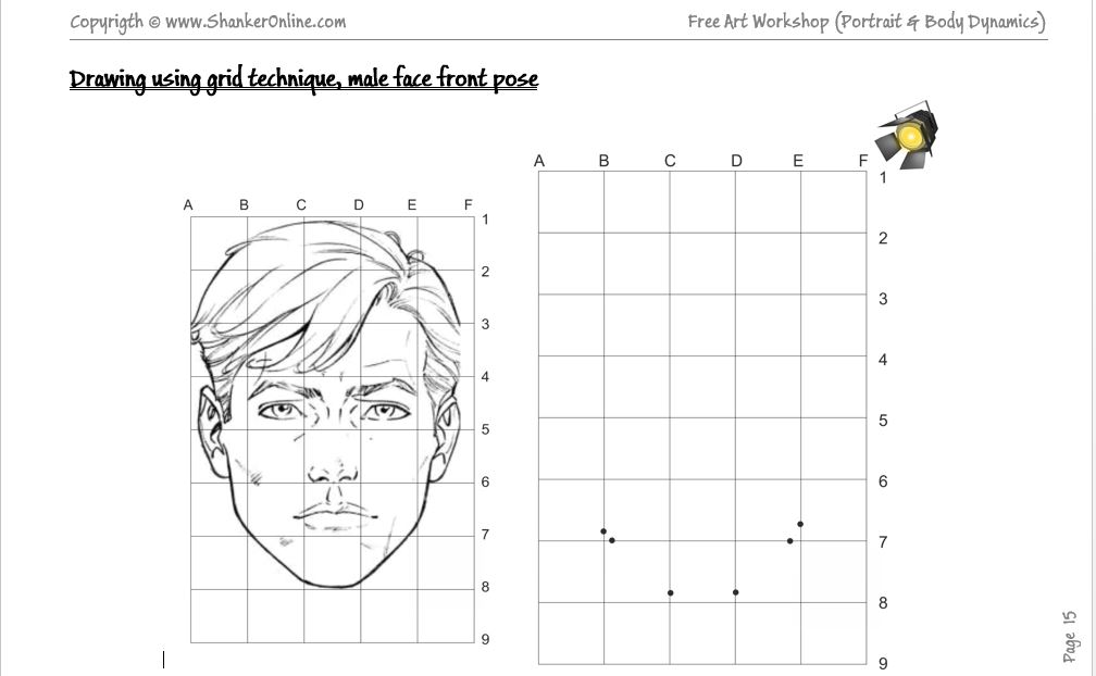 Grid Enlargement Drawing Practice Worksheets The Best Worksheets