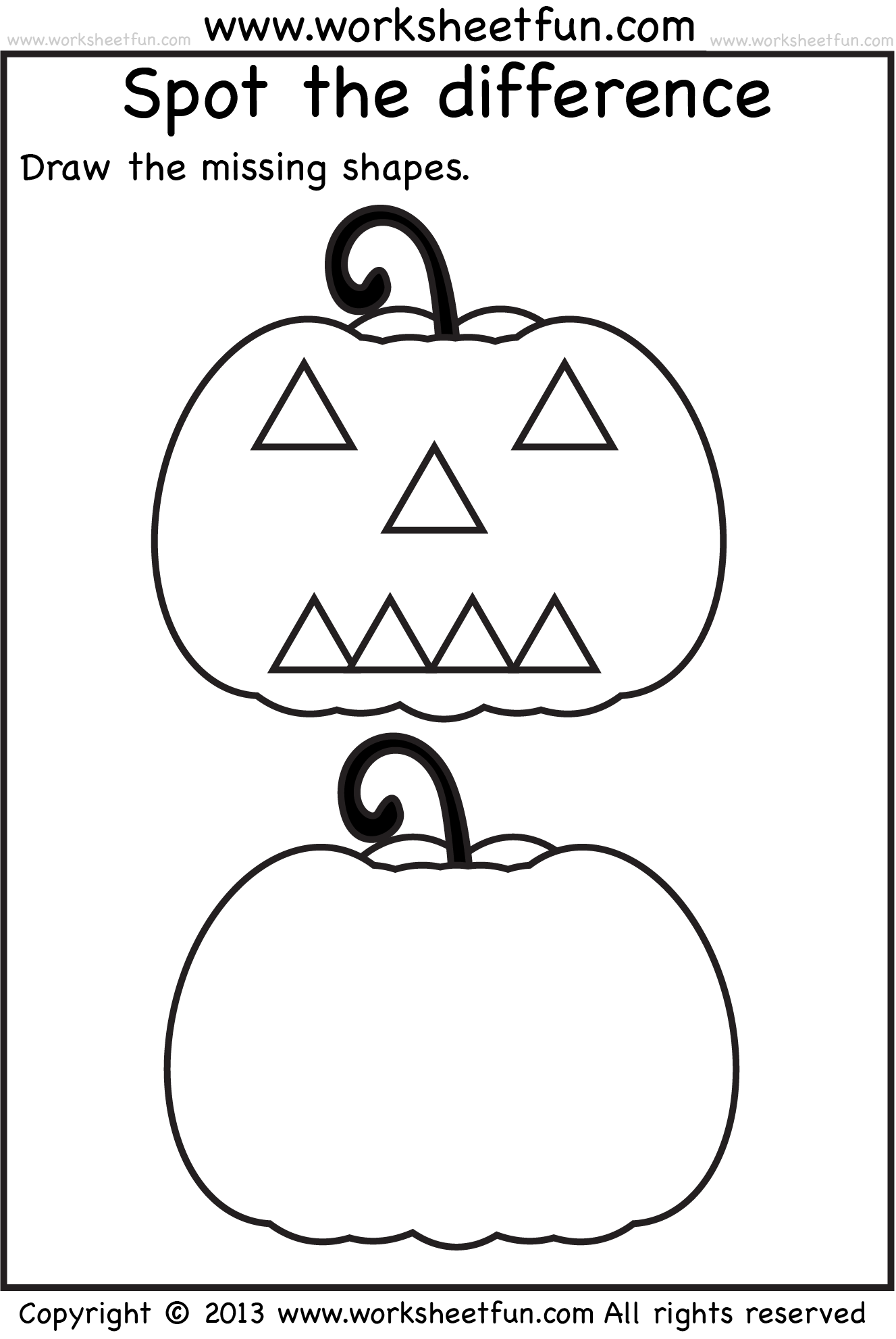 Halloween Activity Worksheets Kindergarten 217839