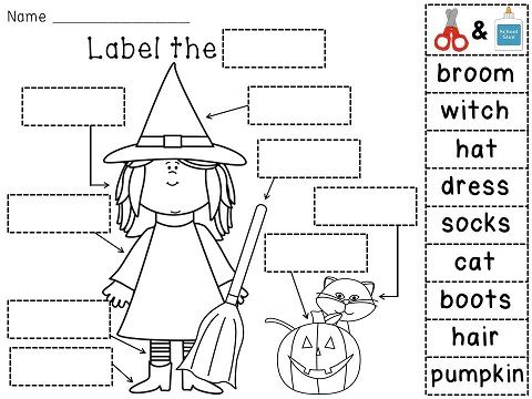 Halloween Fun Printable Packets 1200607