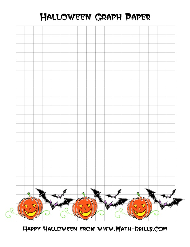 Halloween Math Worksheets Graphing 546223