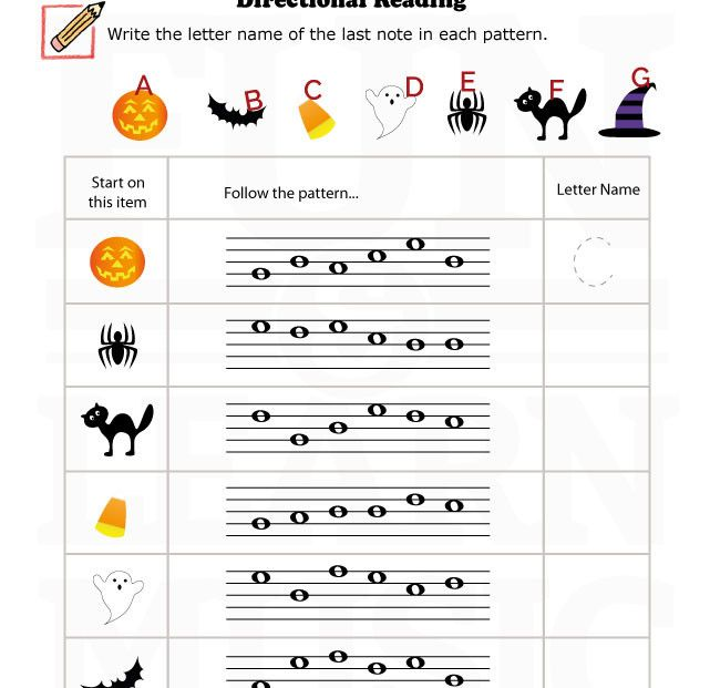 Halloween Music Worksheets The Best Worksheets Image Collection