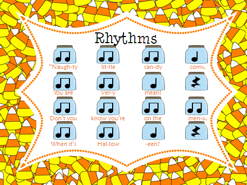 Halloween Rhythm Sheet – Festival Collections