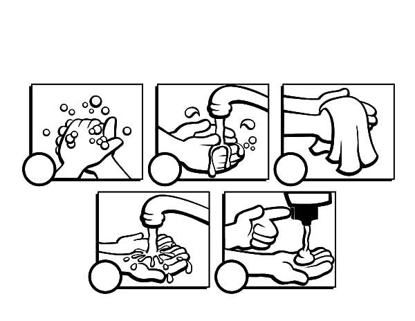 Handwashing Worksheet Worksheets For All