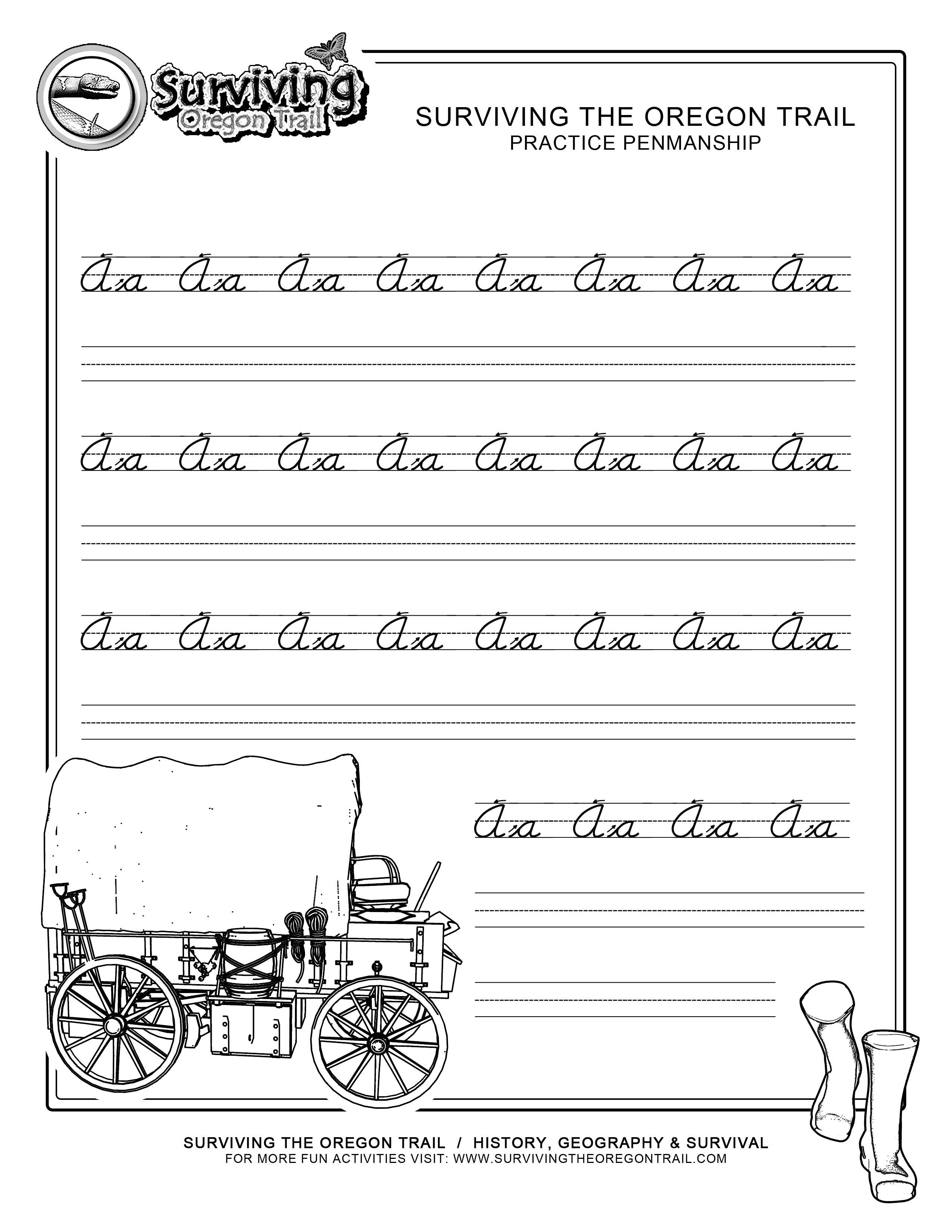Handwriting Worksheets Beginners 900719