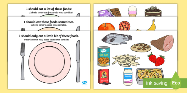 Healthy Eating Sorting Worksheet   Activity Sheet