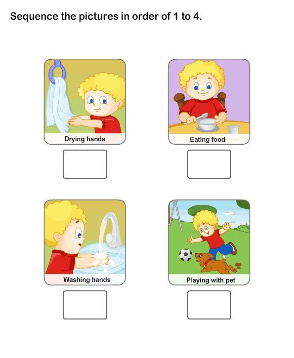 Healthy Habits Worksheets For Kids, Personal Hygiene Worksheets
