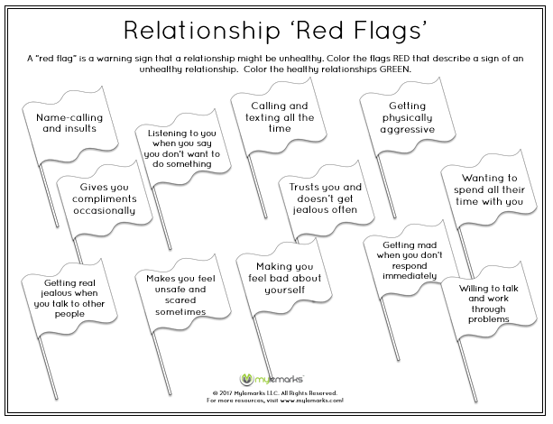 Healthy Relationships Worksheets Printable Worksheets On Healthy