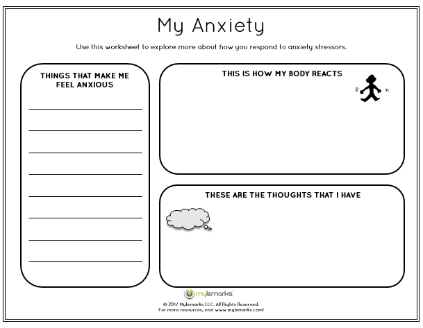 Help Children Learn About And Manage Their Anxiety With This