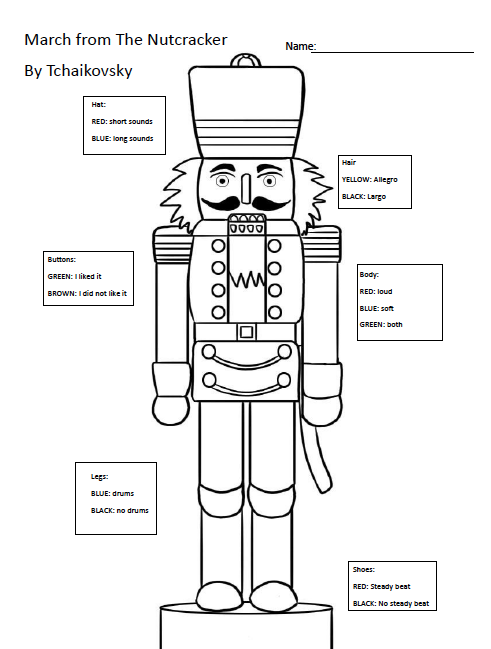 Holiday Lesson Plan  The Nutcracker And Quavermusic Com
