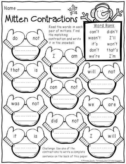 Holiday Math Worksheets 1st Grade 607457