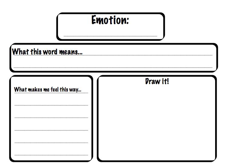 Identifying Emotions Worksheet Cleverwraps, Emotions Worksheets