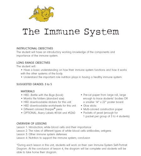 Immunity Worksheet Answers Worksheets For All