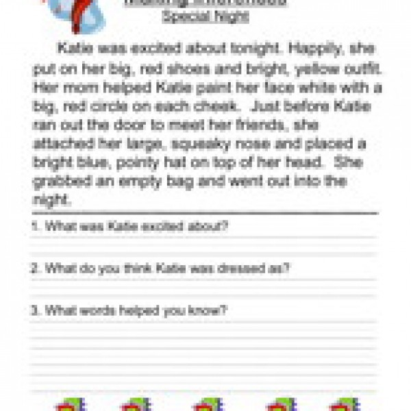 Inference Worksheet Year 3  1034059