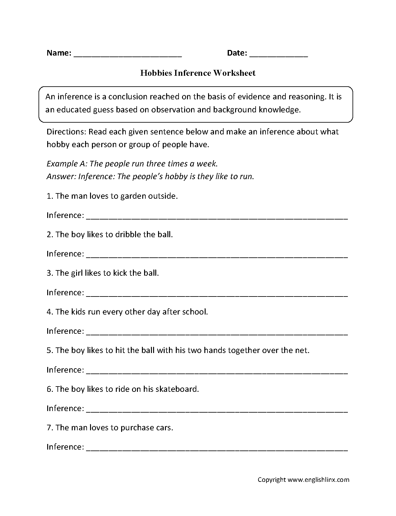 Inferencing Worksheets 2nd Grade 206418