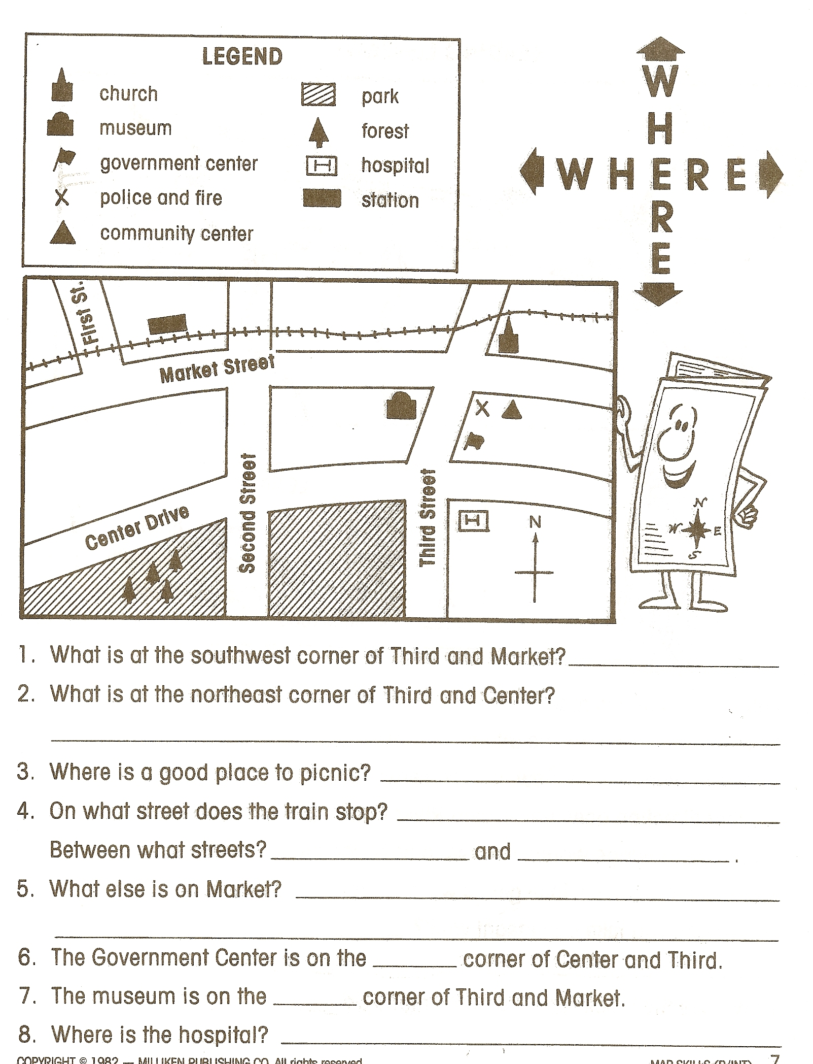 Intermediate Directions Worksheets 37503
