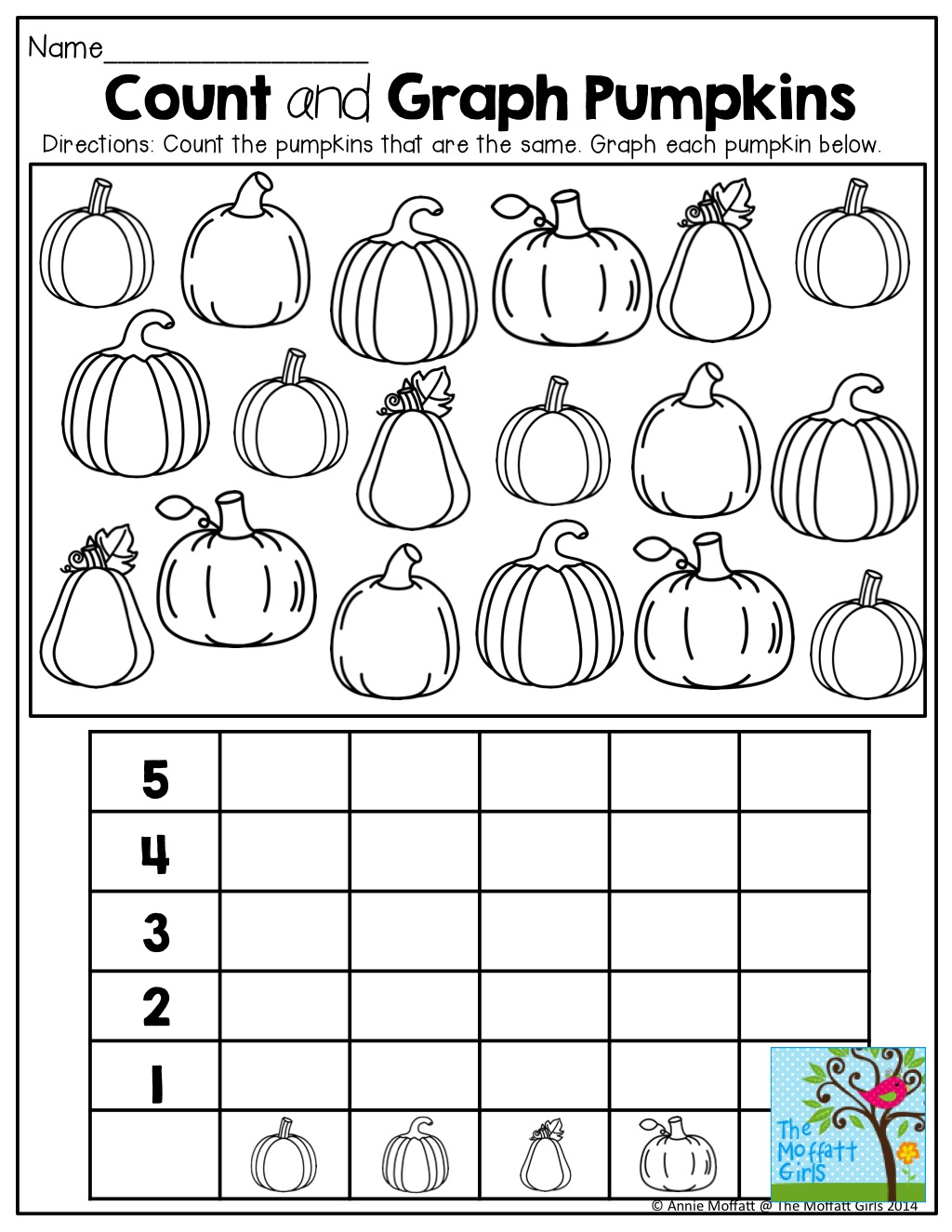 Kindergarten Graphing Worksheets Printable 1204707
