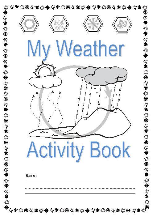 Kindergarten Worksheets About Weather 736959