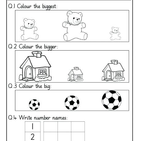 Lkg Worksheets Maths Nursery Worksheets For Kids Maths Free A Part