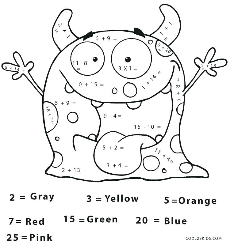 Math Coloring Worksheets For 7th Grade 549213
