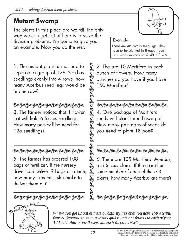 Math Problem Solving Worksheets For 4th Grade 237008