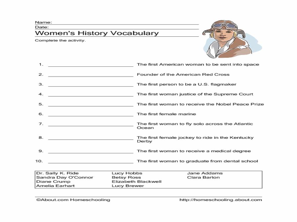 Math Vocabulary Worksheets 6th Grade 800044