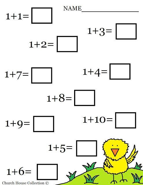 Math Worksheets For Kindergarten 100 Best Kindergarten Worksheets