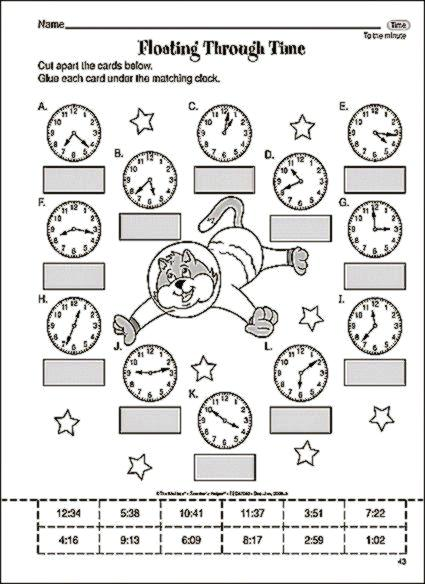 Math Worksheets For Third Grade Students