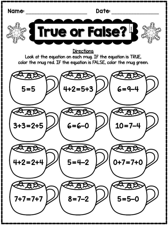 Math Worksheets Fun 584437
