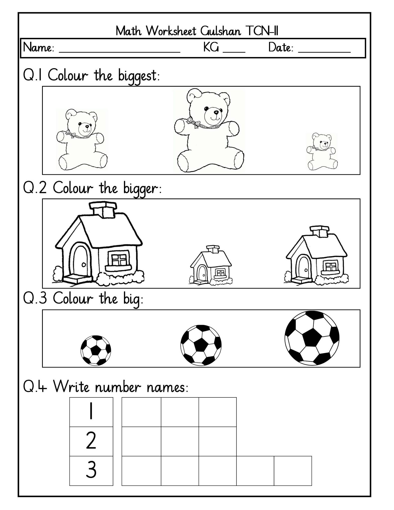 Nursery Worksheets In Pdf 697560