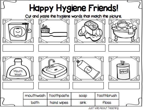 Personal Hygiene Worksheets For Preschool
