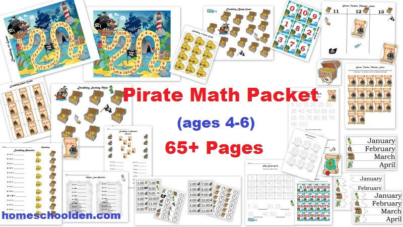 Place Value Video Post  Place Value Printables And Pirate Math