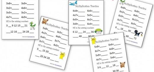 Pokemon Math Worksheets Archives
