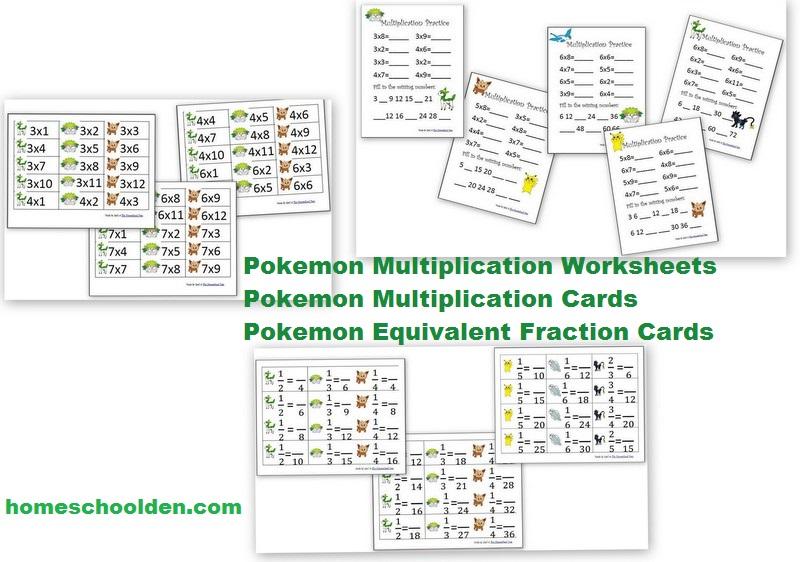 Pokemon Math Worksheets Printable 1266900