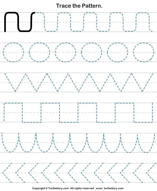 Pre Handwriting Strokes Worksheets