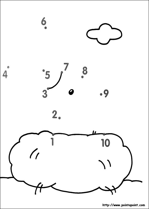 Preschool Connect The Dots Worksheets 1 10 1365514