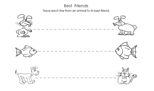 Preschool Prewriting Worksheets Free