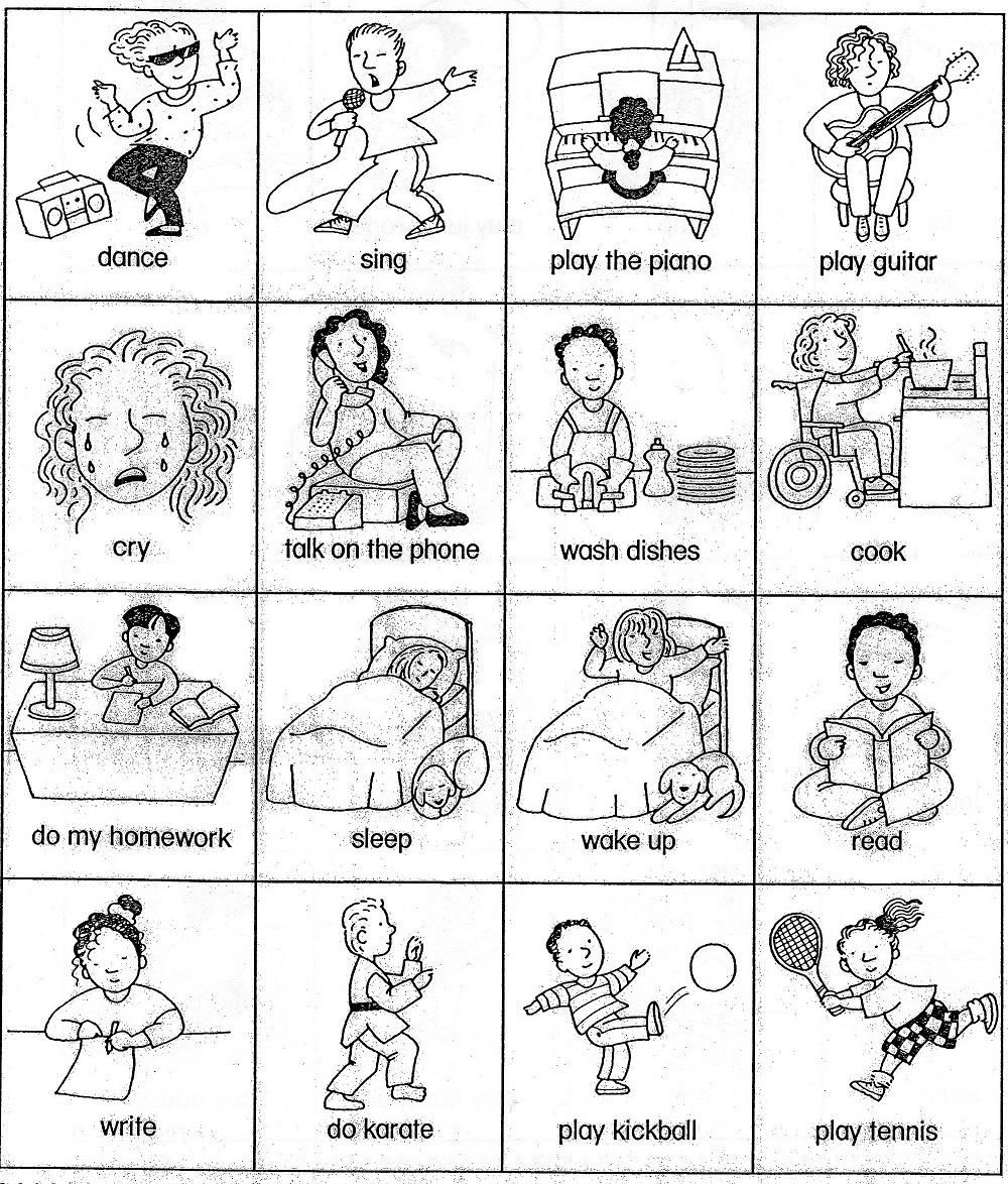Preschool Printable English Worksheets 367902