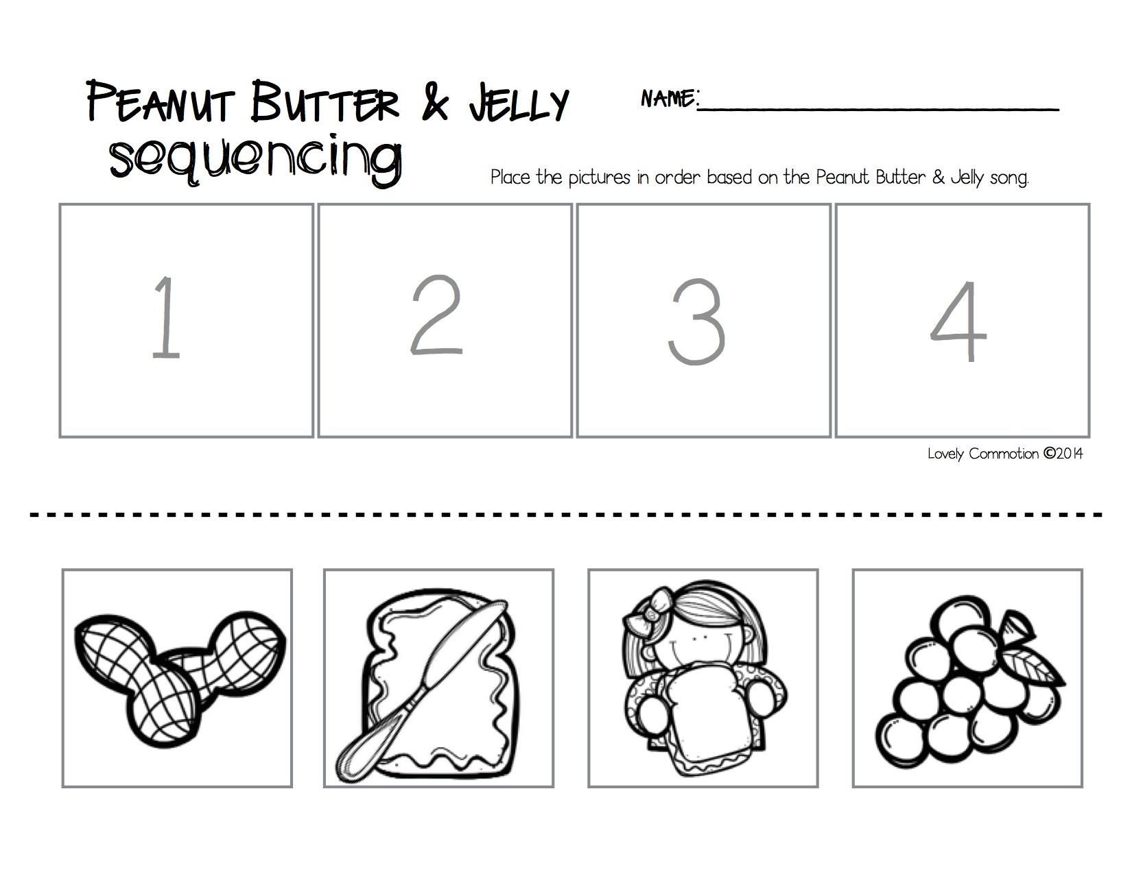 Preschool Printable Sequencing Worksheets  1452123